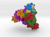 Ebola Glycoprotein 3d printed