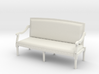 1:48 Louis XVI Sofa Settee with Curved Back 3d printed