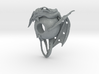 """LUX DRACONIS - Dragon door bell 3d printed dragon door bell """"Guardian at your gate"""" - 3D printed in polished metallic plastic"""