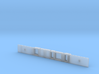 Class 378 MOS Chassis 3d printed