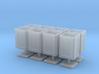 1/48 USN 40mm Ammo Box Lid Open Set 3d printed