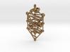 Kabbalah Serpent Pendant 4.5cm 3d printed