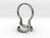 Minimalist Marble Ring 3d printed