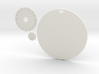 100mm Round Wound Tracking Base 3d printed