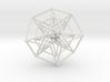 Sacred Geometry: Toroidal Hypercube Double 50mm 3d printed