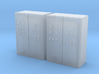 N Scale 2 Control Cabinets 3d printed
