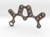 2,5-Furandicarboxylic acid keychain 3d printed