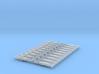NEM OO Type 1 Couplings - Strait 3 Link x10 3d printed