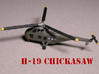 Sikorsky H-19 Chickasaw (S-55) 1/285 6mm 3d printed Sikorsky H-19 Chickasaw painted by Fred O.