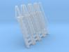 N Scale Ladder 8 (4pc) 3d printed