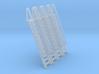N Scale Ladder 12 (4pc) 3d printed