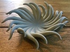 Tentacle Bowl 3d printed Printed Large model in beta material HP Fusion Strong and Flexible Gray