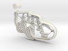 McQueen Cookie Cutter from Cars 3 + Handle 3d printed