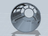 MILLENNIUM MPC CABIN CONE WITH SIDE CONSOLE  3d printed Millennium Falcon cabin cone with side consoles, render.