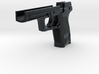1:6 scale H&K USP lower without levers 3d printed