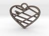 Street Map Heart Pendant 3d printed