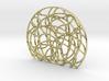 Alpha One Globetrotter Pendant 3d printed