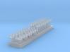 1:350 Scale Phasor 90 Antennas 3d printed
