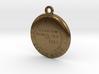 USGS BM Keychain 3d printed