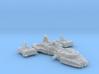 1/270 Incom X3-A Light Gunship 3d printed