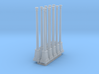 10 x HO Scale lamp posts 3d printed
