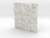 12'' Zion National Park Terrain Model, Utah, USA 3d printed