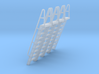 HO Scale Ladder 9 3d printed