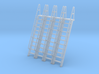 HO Scale Ladder 11 3d printed
