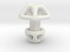 Hexagonal Cufflink 3d printed