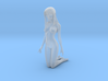 1/12 Nude Beach Beauty 02 for Diorama 3d printed