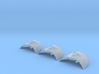 Death Glider set: 1/700 scale 3d printed