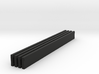 Victorian Railways Bench Seat Boards 1:19 Scale 3d printed