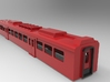 BR280 DR center car Scale 1:160 3d printed