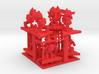SHAFTED: Resplendent Red Gnomes Plastic 3d printed