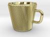 Espresso Cup - Precious metals 3d printed