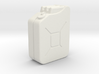 1:35th Scale Jerry Can 3d printed