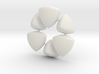 Wonky Balls - Solids of Constant Width 3d printed