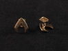 Aquaman cufflinks 3d printed