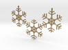 Snowflakes Necklace 3d printed