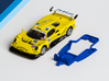 1/32 Avant Slot Lotus Elise GT1 Chassis s.it EVO6 3d printed Chassis compatible with Avant Slot Lotus Elise GT1 body (not included)