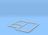 T9062 - Betonplattenform (TT 1:120) 3d printed