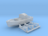 1/200 HMS Hood 16ft Fast Motor Boat with Mounts 3d printed 1/200 HMS Hood 16ft Fast Motor Boat with Mounts