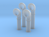 1/144 Scale Flowers Class Large Vent Set 3d printed 1/144 Scale Flowers Class Large Vent Set