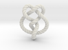 Miller institute knot (Rope with detail) 3d printed