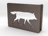 Belt Buckle - Wolf - M1SE 3d printed
