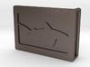 Belt Buckle - Shark - M1FF 3d printed