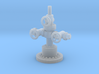 1/87th Well Head for oilfield pump jack 3d printed