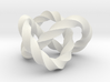 Trefoil knot (Twisted square) 3d printed