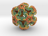 Organoid 1st Mandelbulb3D color mesh ever printed! 3d printed