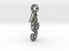 Nellie seahorse necklace charm 3d printed